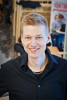 Antti-Jussi Lakanen. Kuvaaja Nora Niemispelto