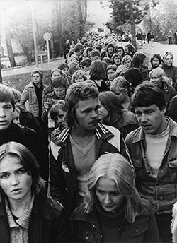 Opiskelijaelämää 70-luvulla