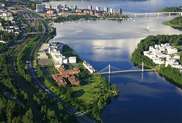 Jyväskylä from air