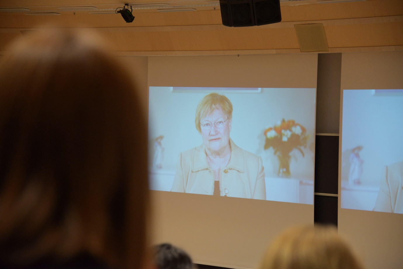 Video greeting from the Patron of the IPVI2017 Conference, President Tarja Halonen