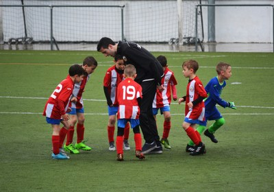Talented soccer players can be identified at a young age