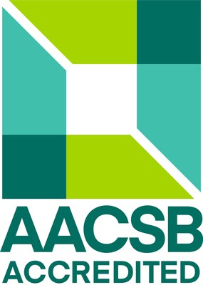 The renowned AACSB accreditation awarded to JSBE