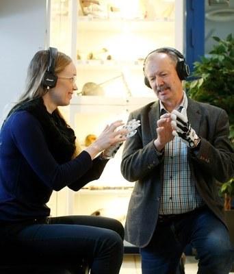 KAiKU Music Glove, a musical instrument from the University of Jyväskylä, is on the threshold of success