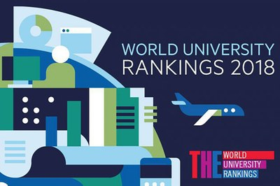 Times Higher Education Rangking by Subject 2018