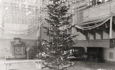 Christmas tree: Made in JYU