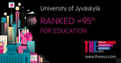 THE-ranking: Kasvatustieteet maailman kärkeä, yhteiskuntatieteet sijoittuivat myös hyvin, taloustieteet uutena listoille