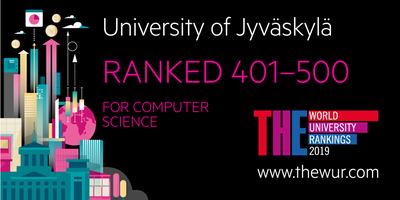 THE-Ranking: Jyväskylän yliopisto nousi Computer Sciences -listalle