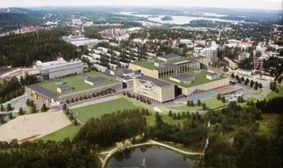 Jyväskylän yliopiston liikuntalaboratorion suunnittelu Hippokselle etenee