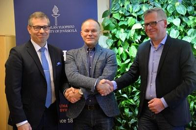 Jyväskylän yliopiston vahva tieteellinen osaaminen mukaan Hippos2020-hankkeeseen