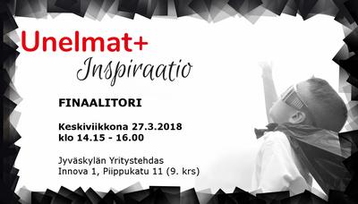 Unelmat+Inspiraatio! -kurssin finaalitori