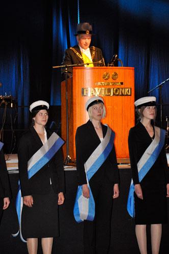 Tasavallan presidentti Sauli Niinistön kunniatohtoreiden kiitospuhe promootioillallisilla