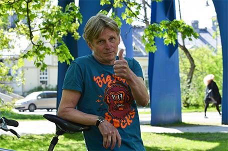 Jorma Kyppö, kuvaaja Lilja Tervo