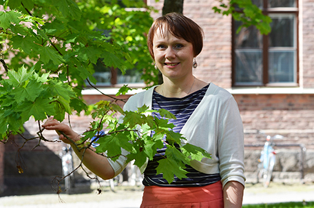 Kirsi-Maria Hytönen, kuvaaja Lilja Tervo
