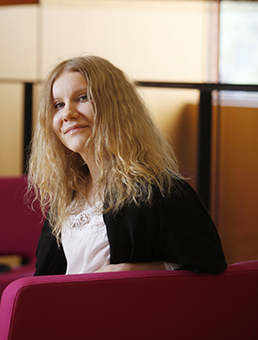 Hanna-Mari Kivistö, kuva: Petteri Kivimäki.