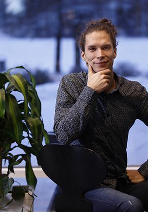 Juho Strömmer, kuvaaja Petteri Kivimäki