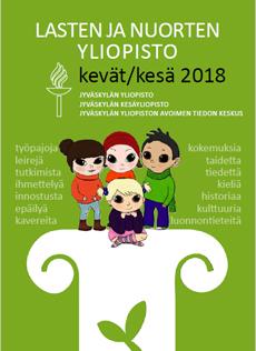 Lasten ja nuorten yliopiston toiminta keväällä ja kesällä 2018 (pdf)