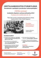 JYKYS-seminaari opettajankoulutuksen historiasta ja nykypäivästä 15.11.2018
