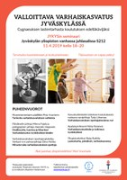 JYKYS-seminaari: valloittava varhaiskasvatus 11.4. klo 18-20