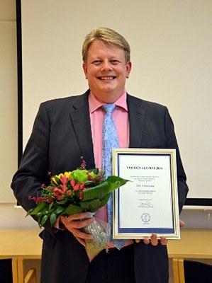 Kari Jukarainen on vuoden alumni 2016