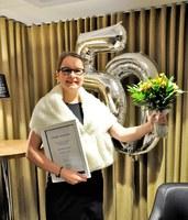 Sanna-Mari Hynninen on vuoden alumni 2017
