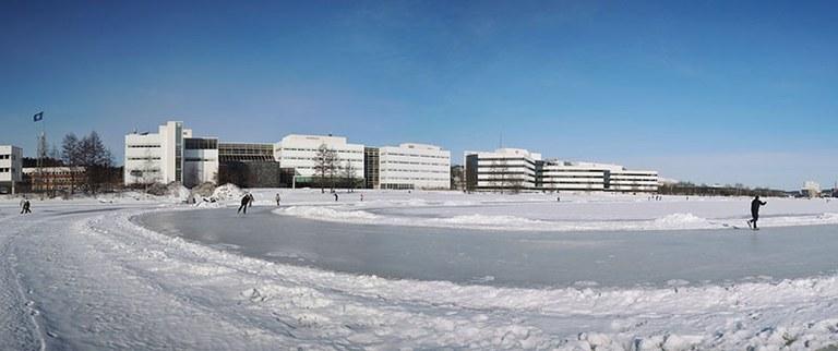 Agora-rakennus Mattilanniemessä