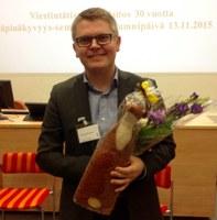 Puheviestinnän ansioitunut alumni Kimmo Miettinen