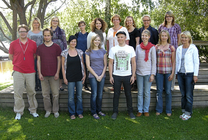 The Varieng Team in August 2011