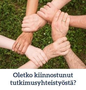 Oletko kiinnostunut tutkimusyhteistyöstä?
